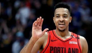 Ni la magia de Jokic le sirve a Denver: Portland empata la serie