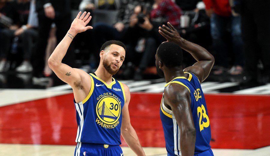 Los Warriors ya acarician las Finales NBA: devastadores Curry y Green