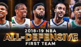 Green, Kahwi y Embiid, fuera del Quinteto Defensivo de la NBA: Bledsoe, dentro