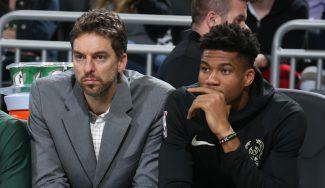 """Pau le alaba y Giannis es claro para ganar el Este: """"Ya no está LeBron"""""""