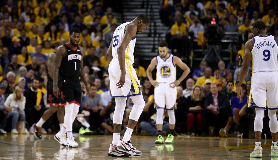 Cara y cruz para los Warriors, se ponen 3-2… pero se lesiona Durant