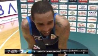 La enésima exhibición del ex-ACB Sylven Landesberg en Turquía: 43 puntazos