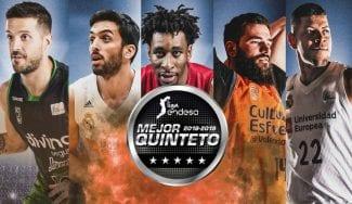 Mejor quinteto de la Liga Endesa: ningún español presente