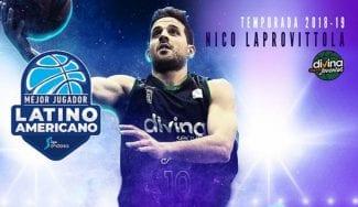 ¿Primero de sus premios? Laprovittola, mejor Latinoamericano de la ACB