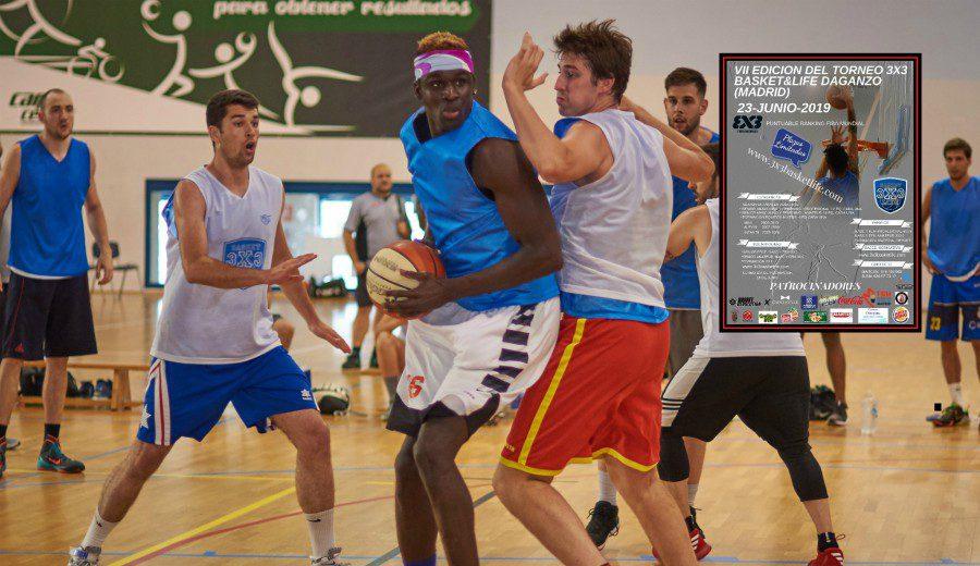 VII Edición del Torneo 3×3 Basket&Life Daganzo, mucho más que baloncesto