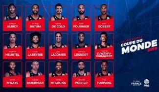 Francia anuncia su preselección de 15 jugadores para el Mundial