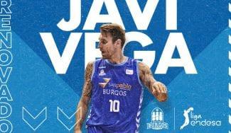 Javi Vega renueva contrato con el San Pablo Burgos