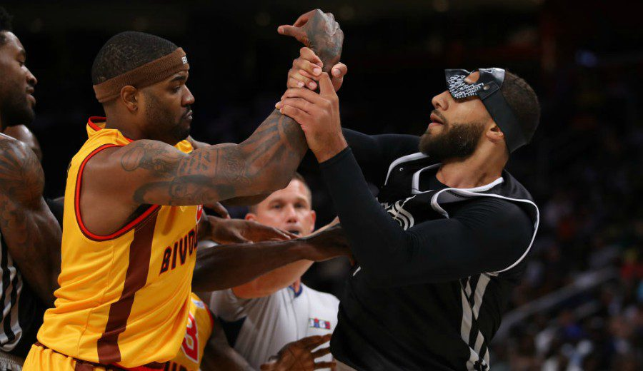 Pelea entre Josh Smith y Royce White en la Big3