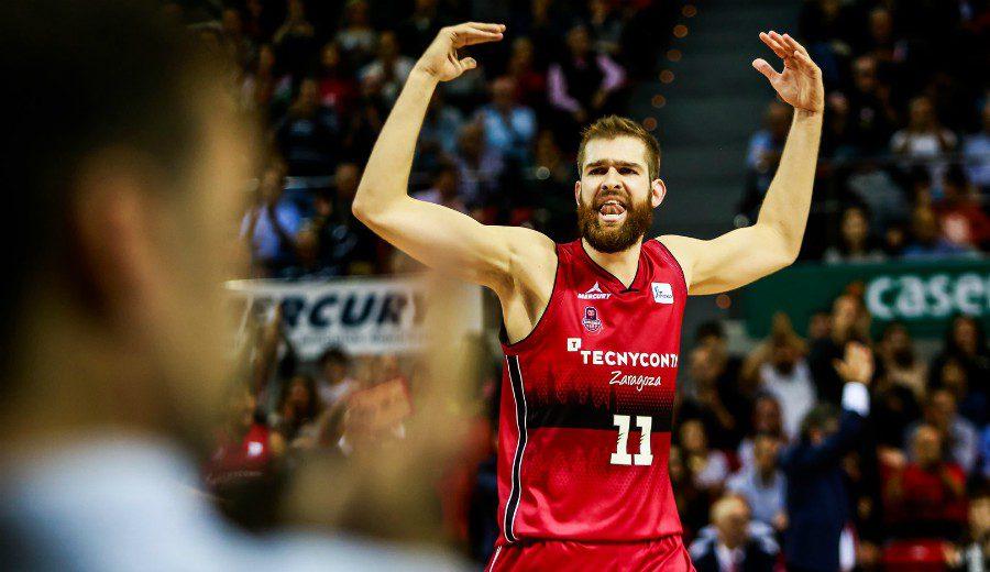 Nemanja Radovic seguirá un año más en el Tecnyconta Zaragoza
