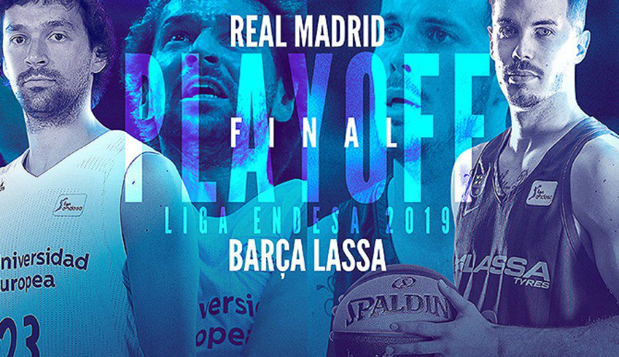Real Madrid y Barcelona Lassa se ven las caras en el Playoff Final