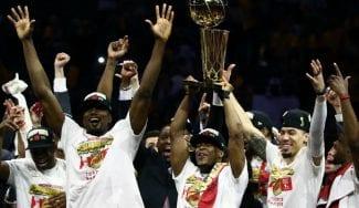 Toronto Raptors, histórico campeón de la NBA