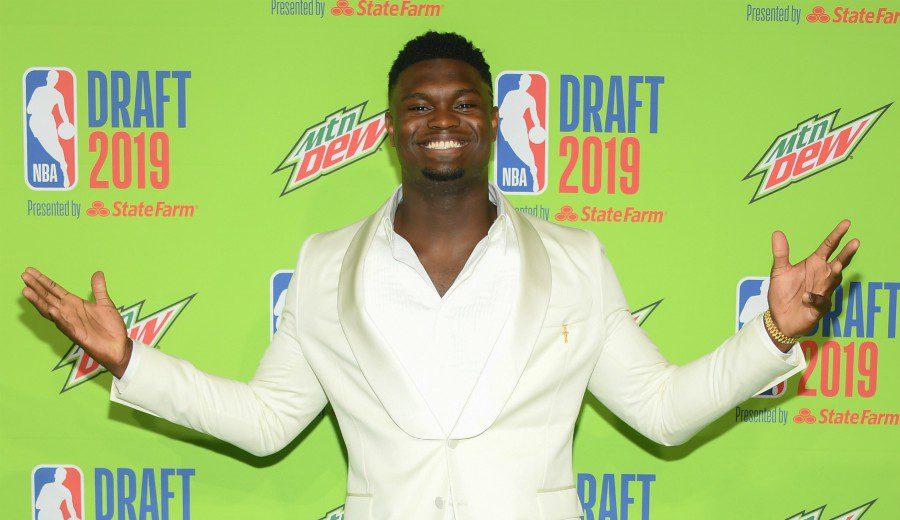 Empieza la era Zion Williamson, elegido en el #1 del Draft 2019