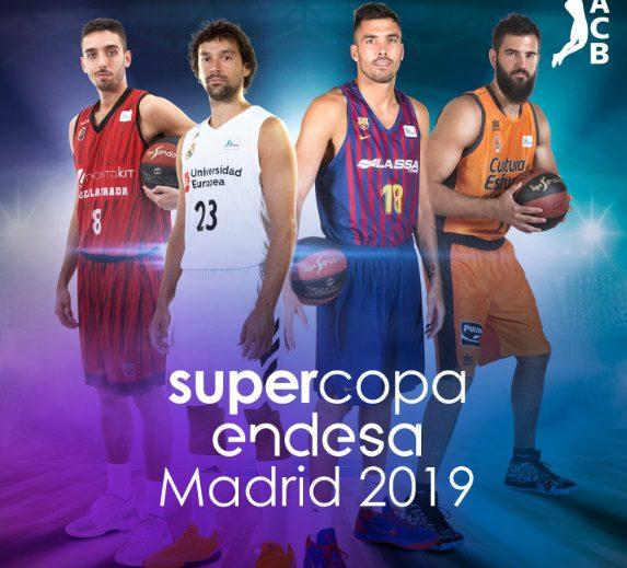 Cartel de la Supercopa: Fuenla y Valencia se unen a Madrid y Barça