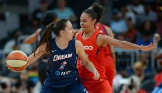 Empieza a deslumbrar: Maite Cazorla y su mejor partido en la WNBA
