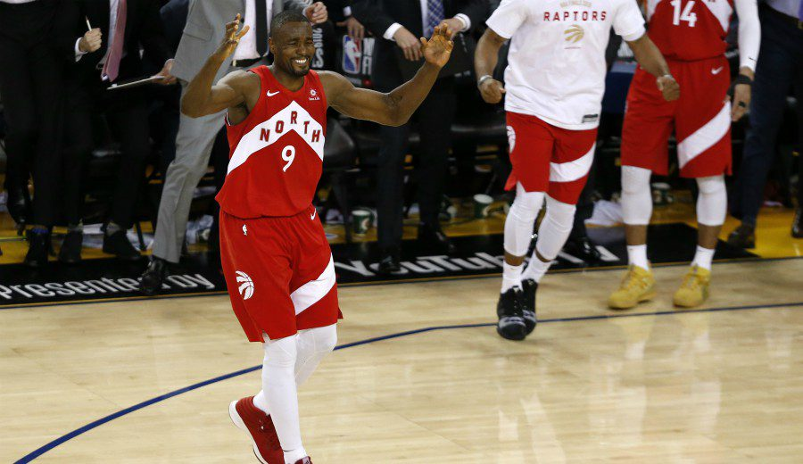 """Ibaka y su gran final le da su primer anillo: """"Esto es para Canadá"""""""