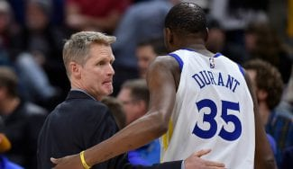 """Si volviera atrás, Kerr volvería a poner a Durant pero… """"fue un shock"""""""