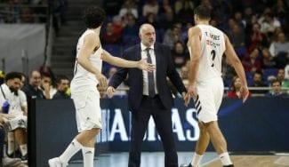 Laso elogia a Reyes: «Estamos en la final por sus siete minutos en Valencia»