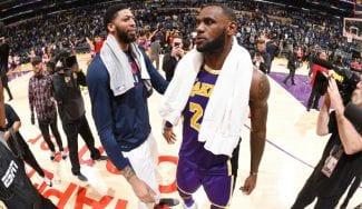 LeBron y AD juntos no sólo en Lakers…¿también en Space Jam 2?