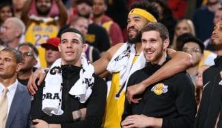 McGee se moja sobre su compañero Lonzo Ball: «Está muy infravalorado»