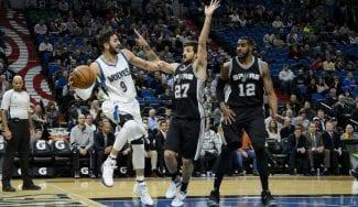 ¡Vaya par! El NBA Ricky Rubio y el MVP Nico Laprovittola entrenan juntos