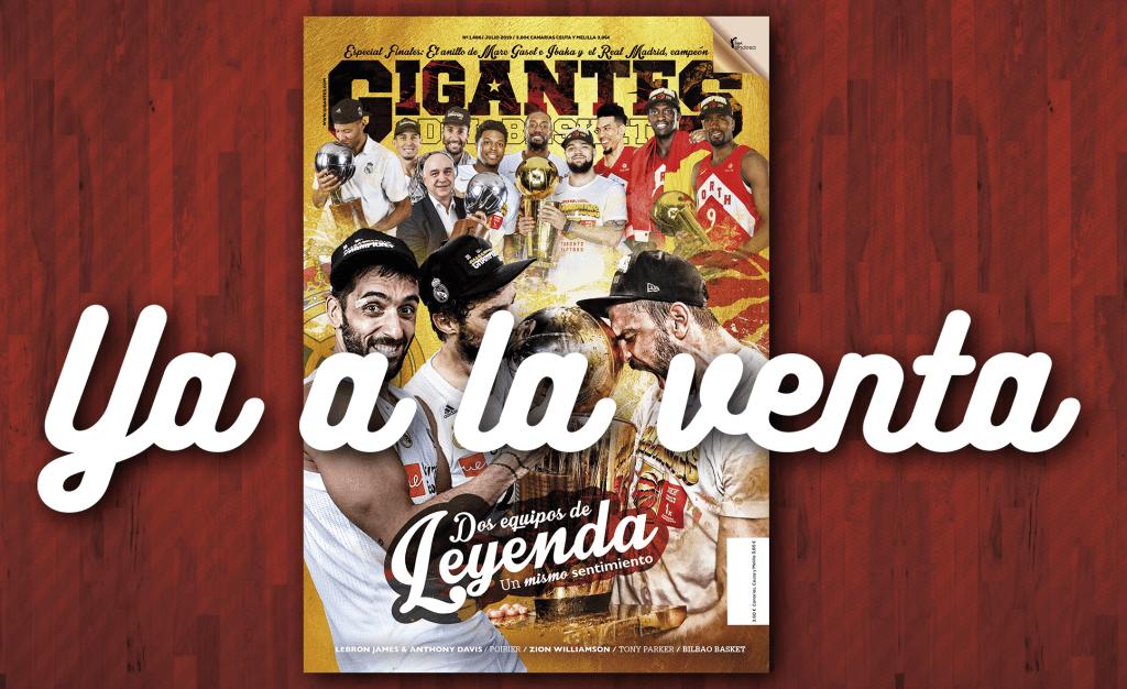 Toronto Raptors y Real Madrid: aquí, los contenidos de la nueva Gigantes