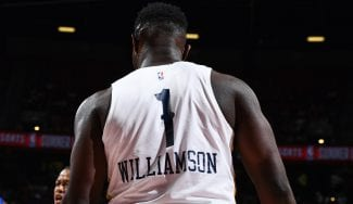 La NBA le quita tres centímetros a Zion Williamson