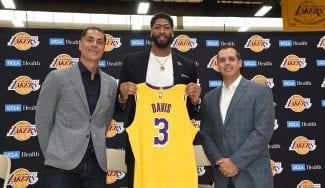 Nuevas generaciones: Davis supo por Instagram que jugaría en los Lakers