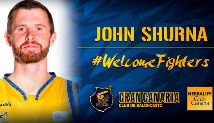 John Shurna, otro fichaje para el Herbalife Gran Canaria