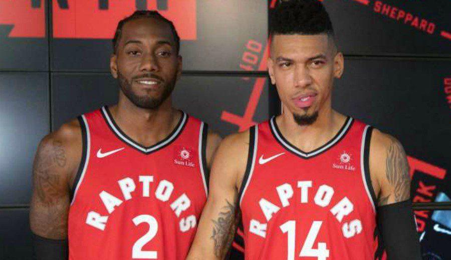 Los Toronto Raptors dicen adiós a Leonard y Green con todos los honores