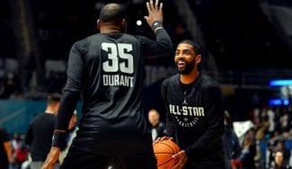 Los «cambios de humor» de Kyrie Irving dejan «mareados» a los Nets