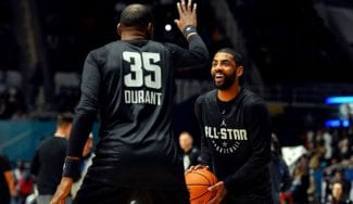 Kevin Durant y Kyrie Irving llegan a los Brooklyn Nets