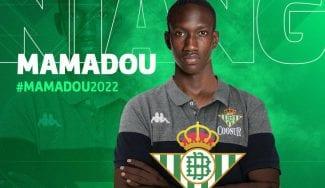 Mamadou Niang, nuevo jugador del Coosur Real Betis