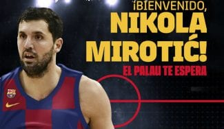 OFICIAL: Nikola Mirotic ficha por el Barcelona Lassa