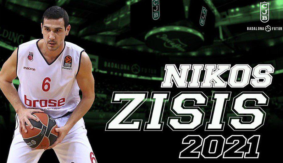 Nikos Zisis, el base con experiencia que llega al Joventut de Badalona