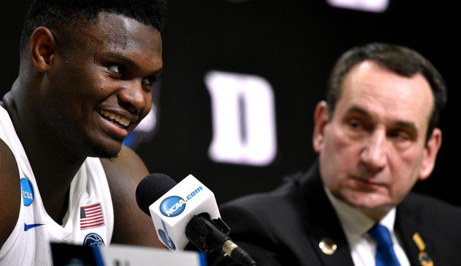 """Coach K se pronuncia: """"Zion no debería haber jugado la Summer League"""""""