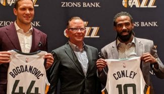 El reto de los Jazz, con Mike Conley: «Todos queremos ganar un título»