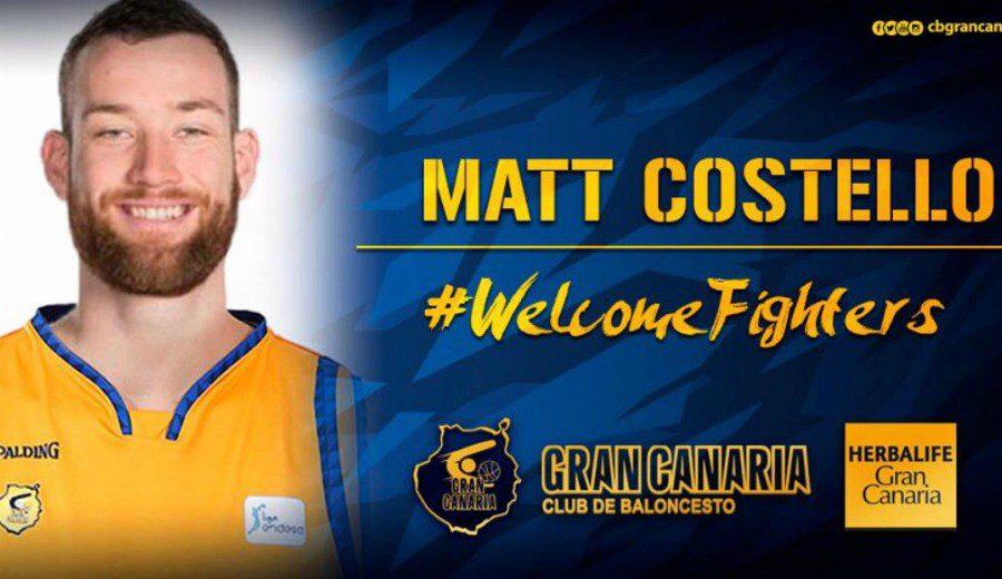 Un ex de los Spurs llega al Herbalife Gran Canaria: Matt Costello