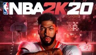 Anthony Davis, portada del videojuego NBA2K20