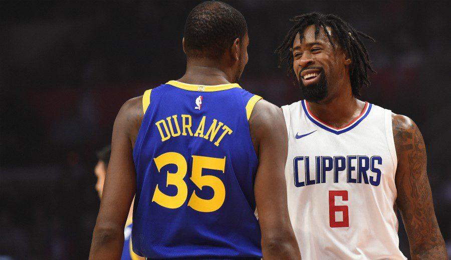 DeAndre Jordan, sobre la recuperación de Durant: «Va rápido»