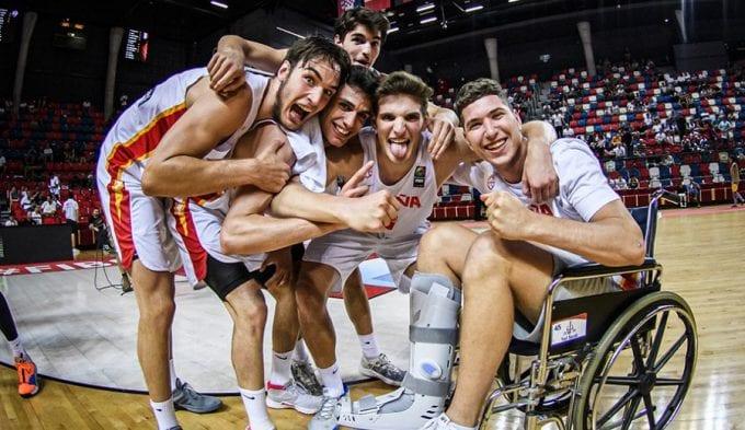La España sub-20 de Alocén y Martínez llega a la final del EuroBasket