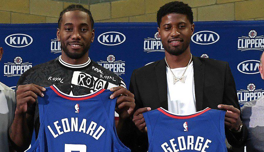 Kawhi y George se reencuentran en los Clippers: «Teníamos que jugar juntos»