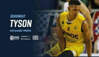 Tyson Pérez lo consigue: jugará en la Liga Endesa con Morabanc Andorra