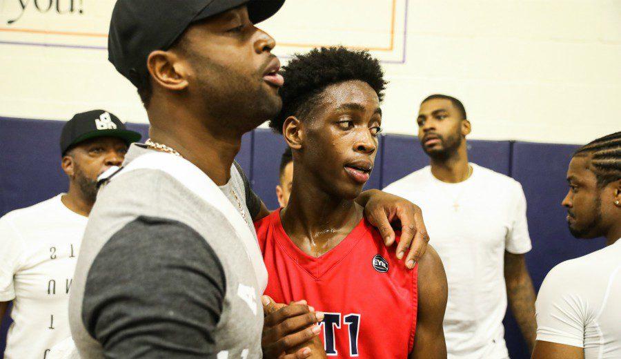 Wade, sobre el vínculo de su hijo con el de LeBron: «Es genial poder juntarles»