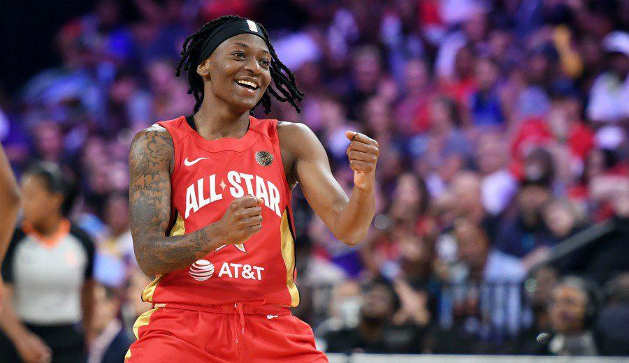 Show en el All-Star de la WNBA: mira el festival de triples anotados