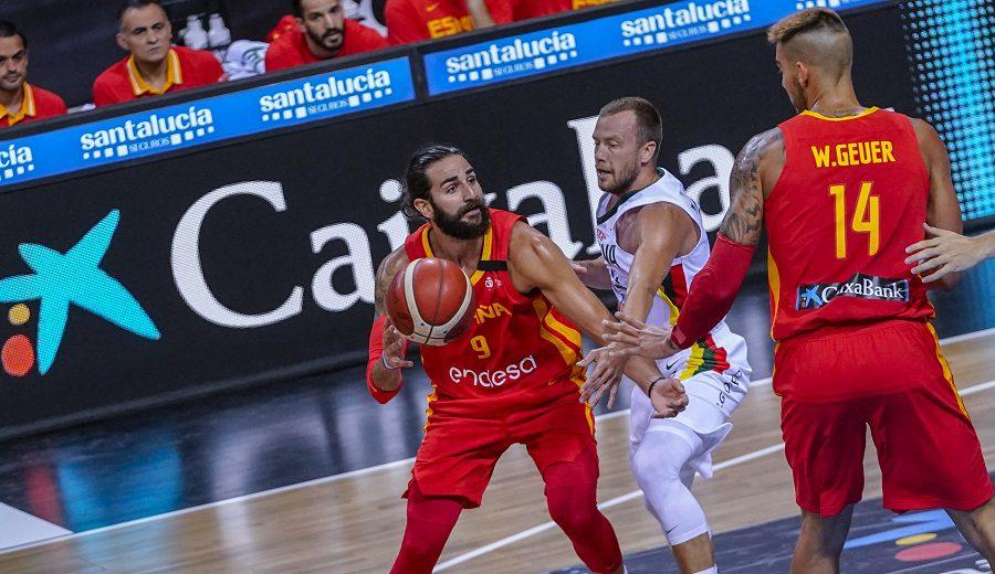 España vence a Lituania en el primer amistoso de cara al Mundial: Ricky y Willy brillan