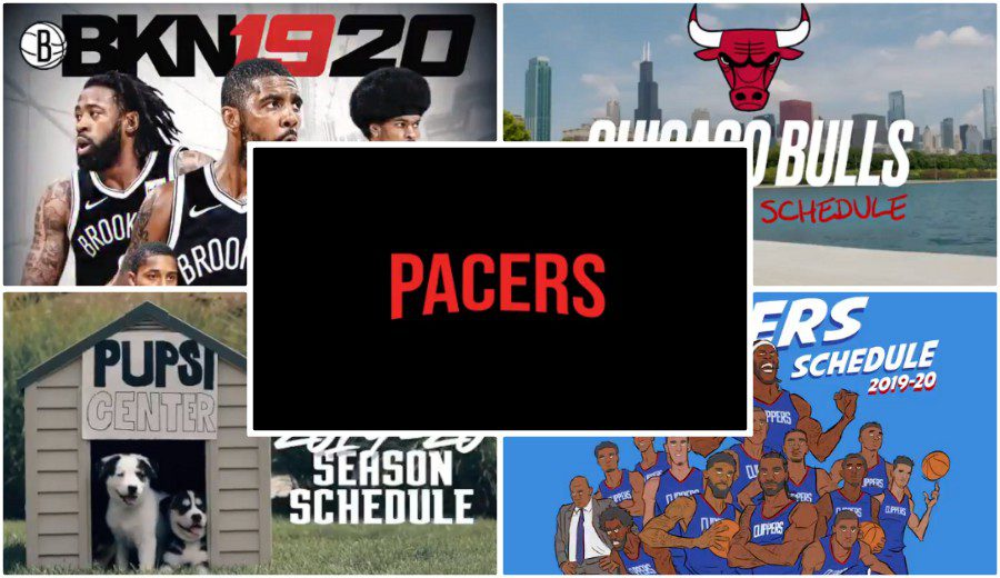 La originalidad convertida en calendarios de la NBA