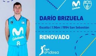Oficial: Darío Brizuela renueva una temporada con el Movistar Estudiantes
