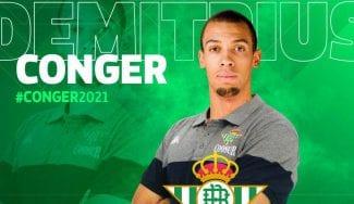 Demitrius Conger ficha por el Coosur Real Betis
