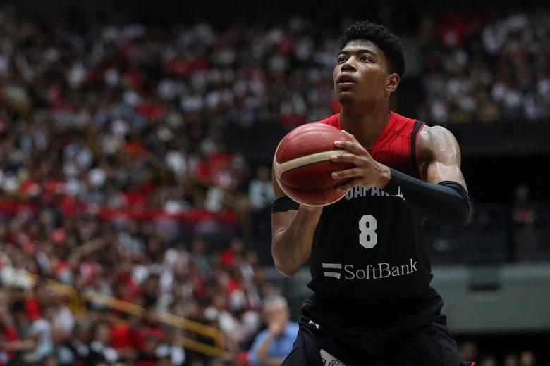 El NBA Hachimura impresiona: se sale en sus primeros partidos con Japón