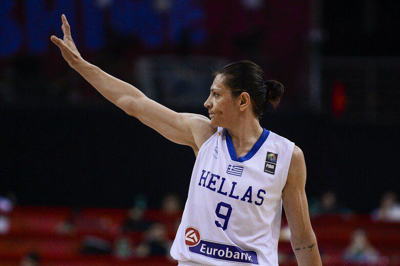 Evanthia Maltsi se retira de Grecia: mítica escolta que jugó en España